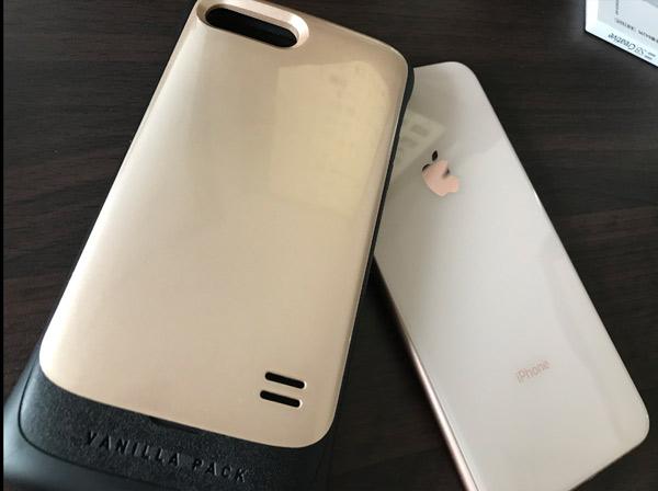 筆者が使用しているiPhone8Plusケース