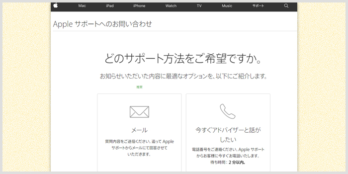 Apple Storeカスタマーサービス