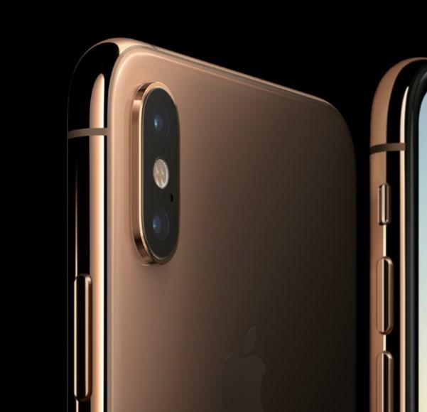 iPhoneXSゴールドモデル
