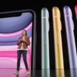 iPhone11は6色
