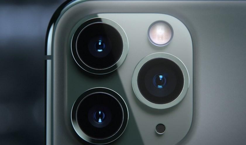 iPhone11Proのトリプルカメラ