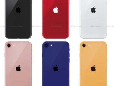 iPhoneSE2(iPhone9)の人気色は?カラーリング定番スペースグレー・シルバー以外に全6色