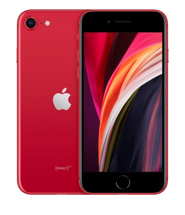 2020年の赤いiPhoneSEプロダクトレッドモデル