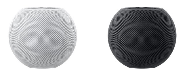 HomePod mini(ホームポッドミニ)の色は白とグレー