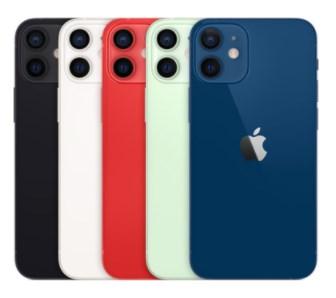 比較されるiPhone 12 mini