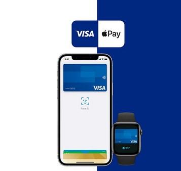 VisaをApple Pay